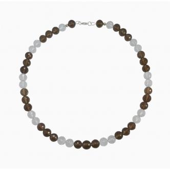 Smoky Quartz Gemstone Necklace Handmade