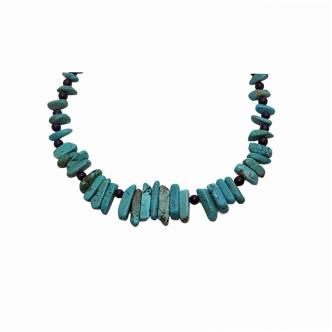 Türkis und Jade Halskette