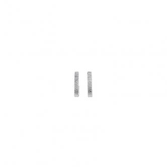 925 935 Sterling Silber Lange Rechteckige Gehämmerte Ohrstecker Ohrringe Handgefertigt Handgeschmiedet