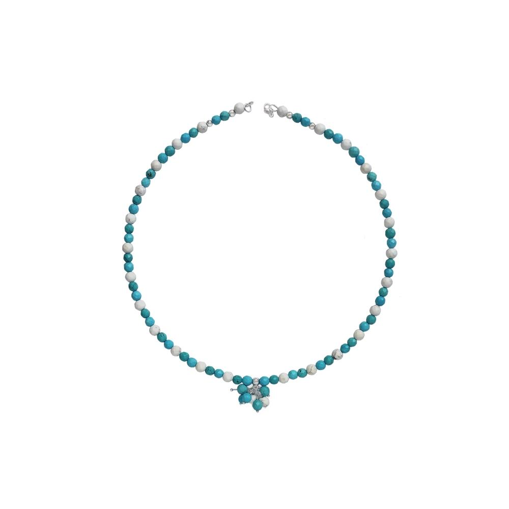 Howlite Necklace Handmade