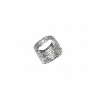 Breiter Echt Silber Ring,...