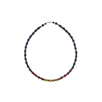 Multi Colour TigerEye Necklace