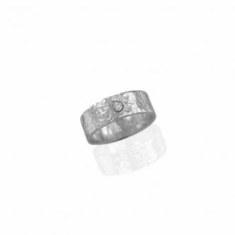 Sterling Silber Ring mit...