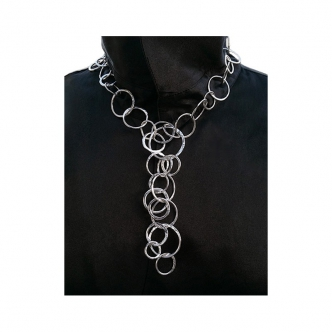 Statement Necklace Silver...