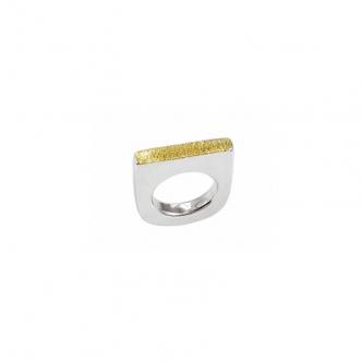 Massiver Silber Ring mit...