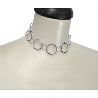 Sterling Silver Ring Necklace Statement 935 925 Handmade