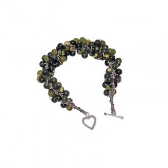 Crochet Bracelet Greens