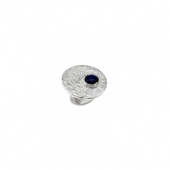 Handgefertigter Massiver Echt Silber Statement Ring