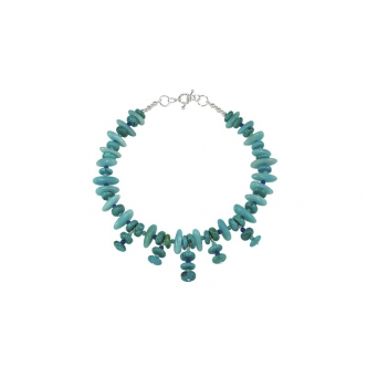 Howlite and Amazonite Necklace