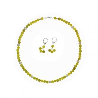 Peridot and Pearls...