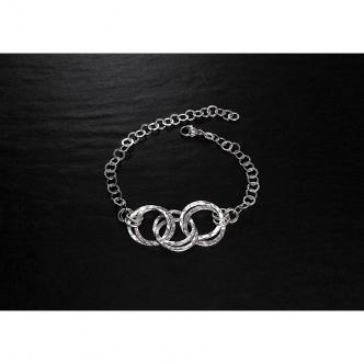 Silber Ring Armband