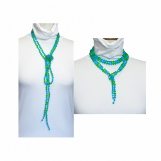 Handmade Glass Beads Necklace