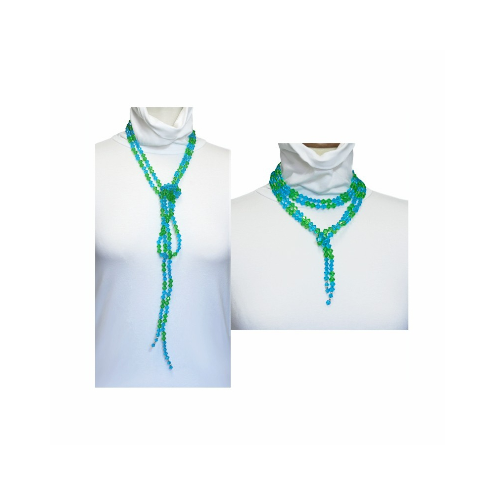 Handmade Glass Beads Necklace