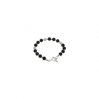Onyx and Sterling Silver...