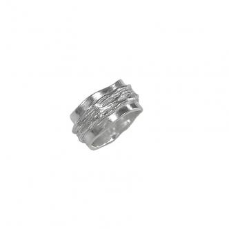 Handgefertigt Feinsilber Silber Ring, Statement, Trauring, Ehering, Partnerringe