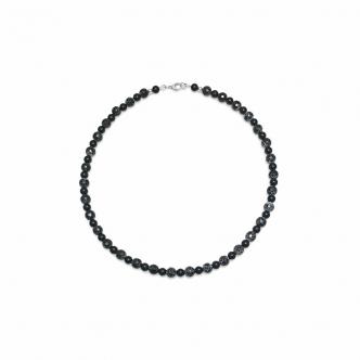 Agate Black Handmade Necklace