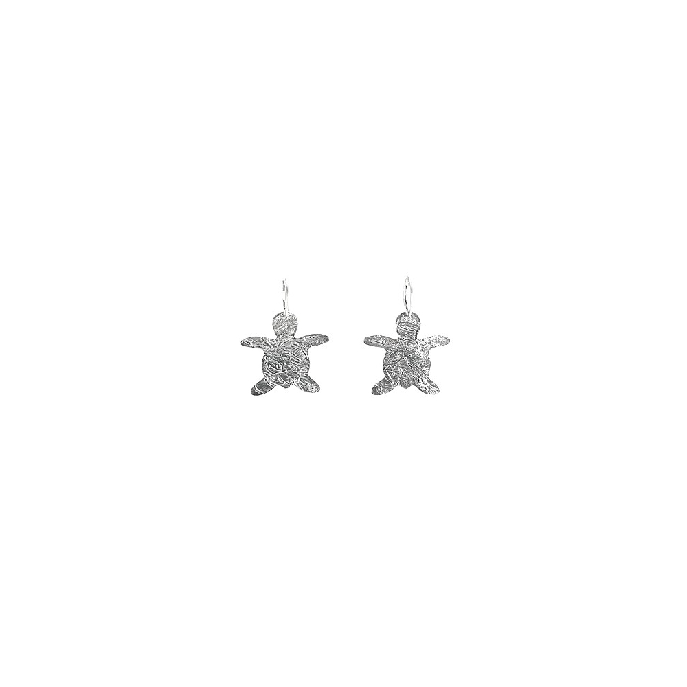 Sterling Silver 925 950 Turtle Earrings Handmade