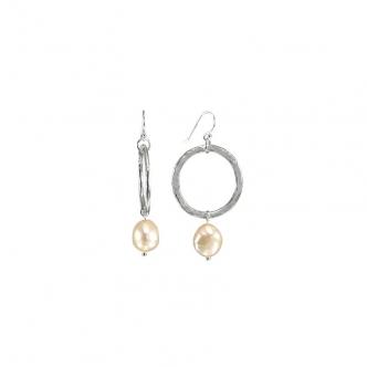 Perlen und Silber, Ohrringe